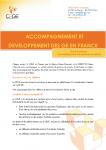 Accompagnement et développement des GE en France