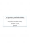 Nouvelles pratiques de mutualisation et coopération dans le secteur culturel
