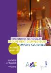 Synthèse – les 1ères Rencontres Nationales des GE Culture 2012